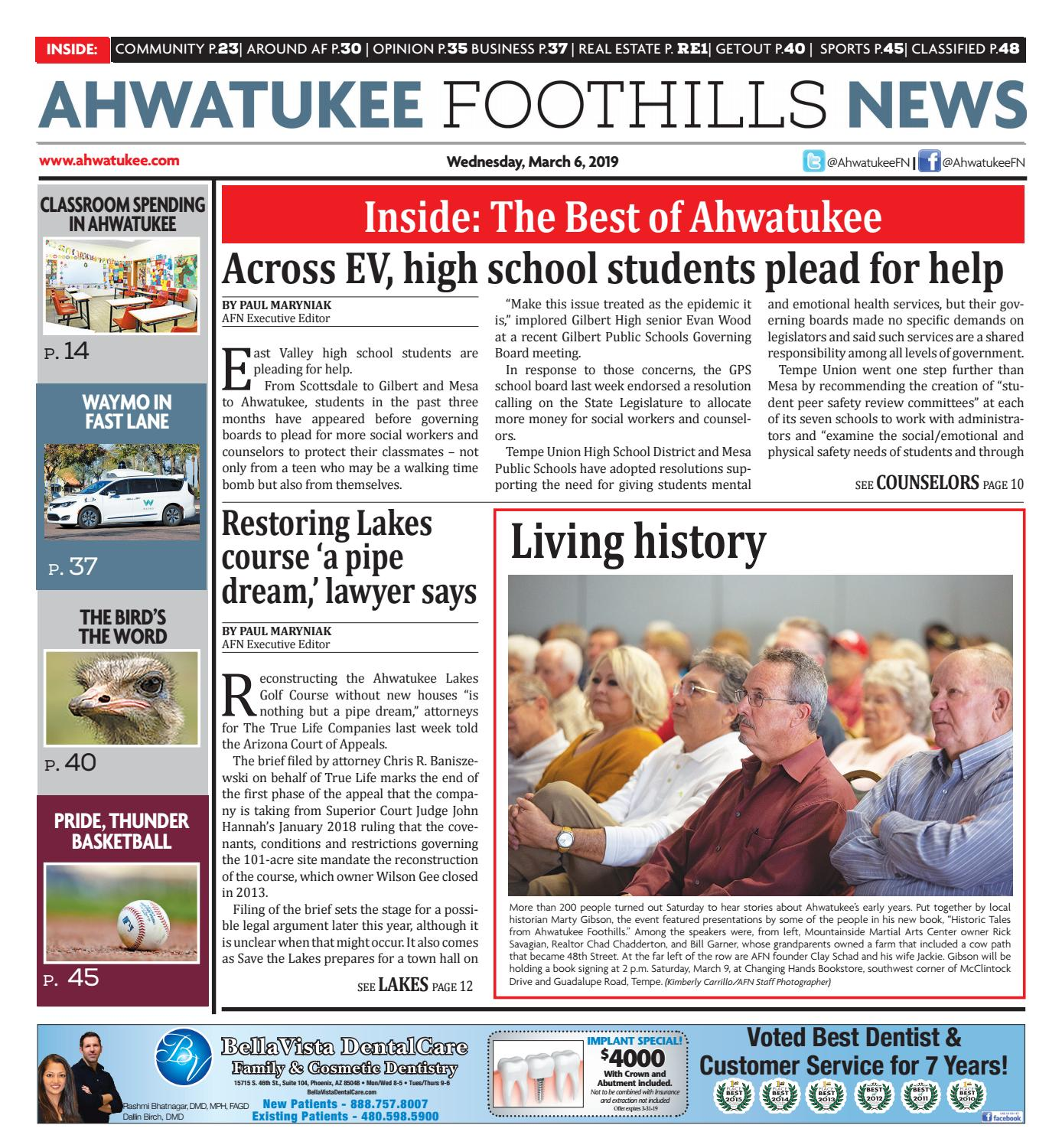Ahwatukee Foothills News - March 6, 2019 by Times Media