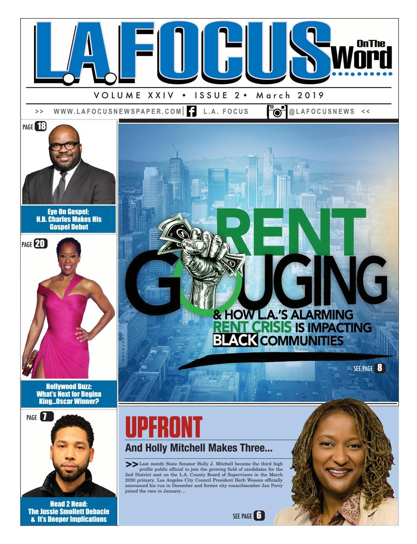 L A  Focus Newspaper March 2019 by LA Focus Newspaper - issuu