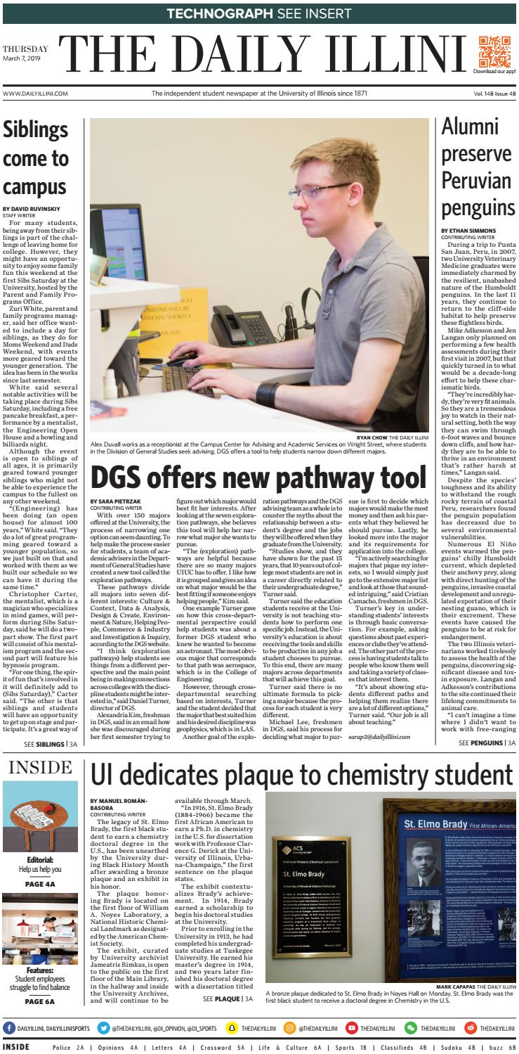The Daily Illini: Volume 148 Issue 47 by The Daily Illini