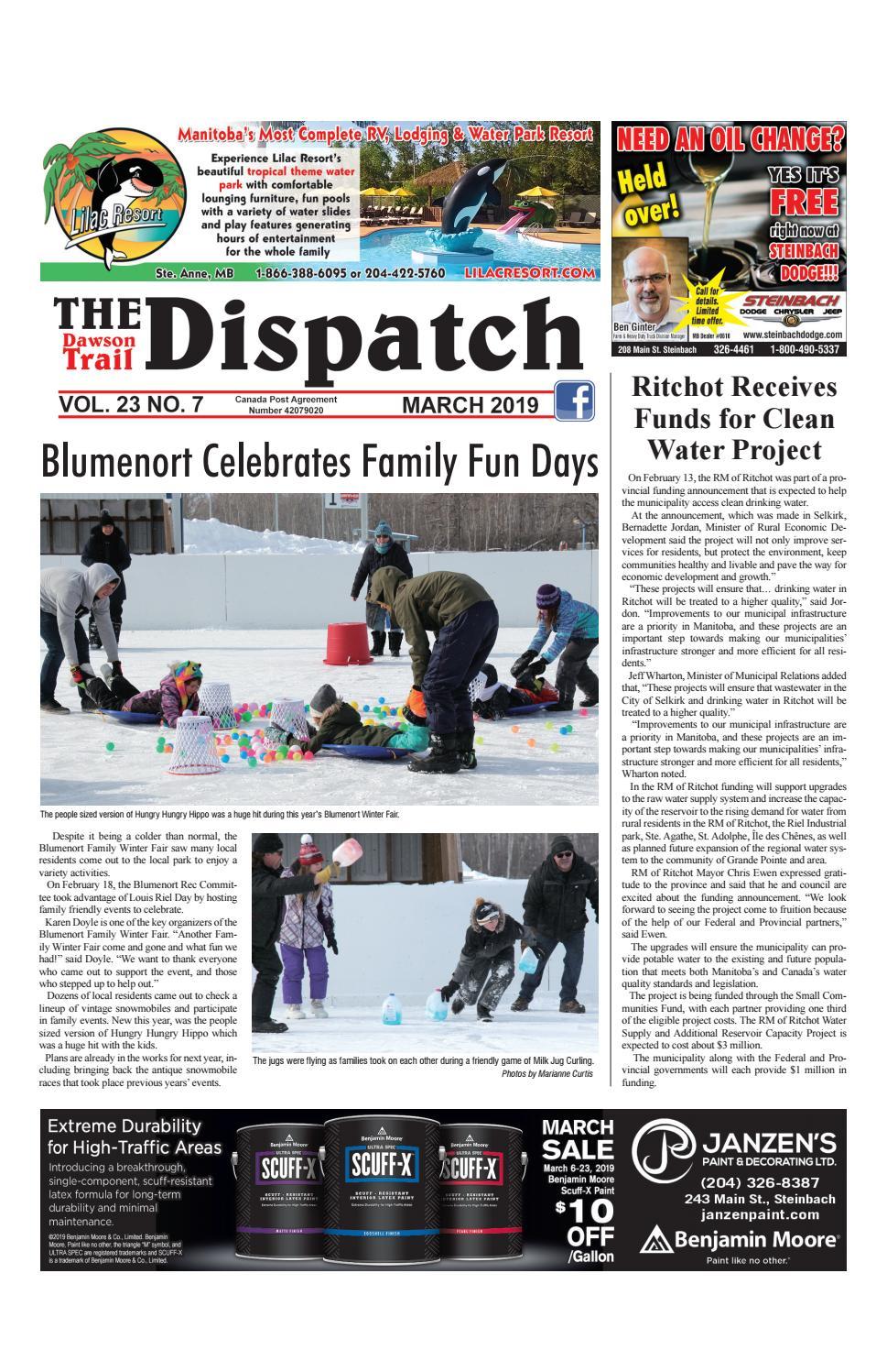 8e6096bd67fcf2 Dawson Trail Dispatch March 2019 by The Dawson Trail Dispatch - issuu