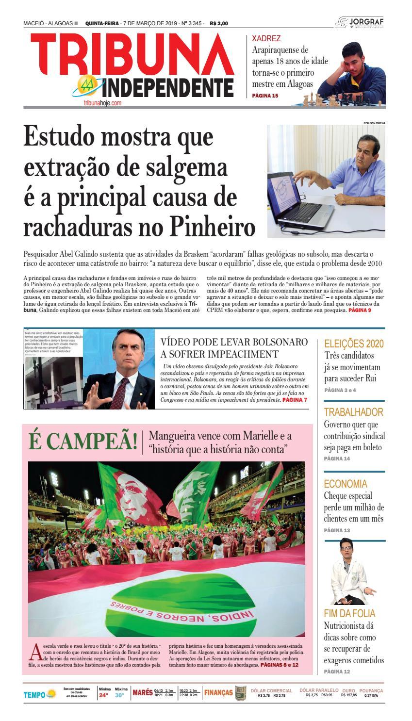9be89faa42d00 Edição número 3345 – 7 de março de 2019 by Tribuna Hoje - issuu