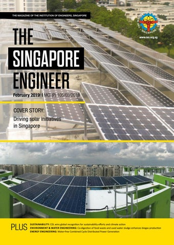 The Singapore Engineer February 2019 By The Singapore