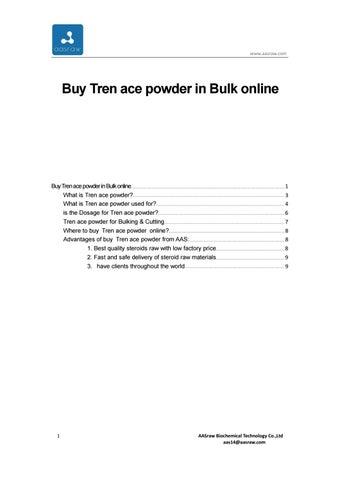Buy Tren ace powder in Bulk online