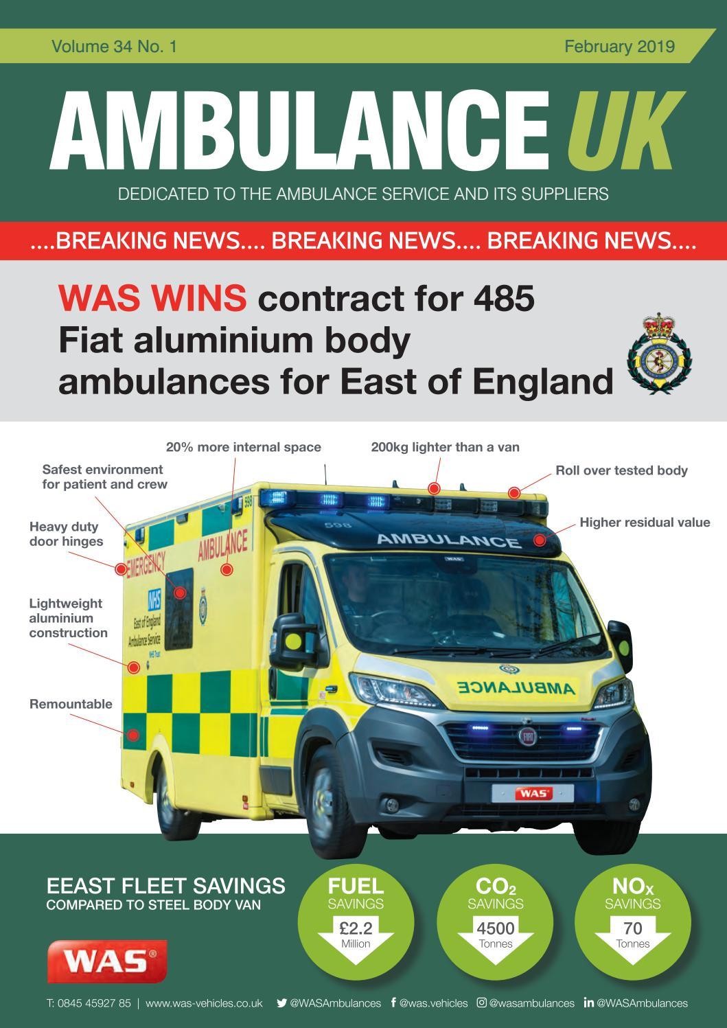Ambulance UK By Media Publishing Pany Issuu