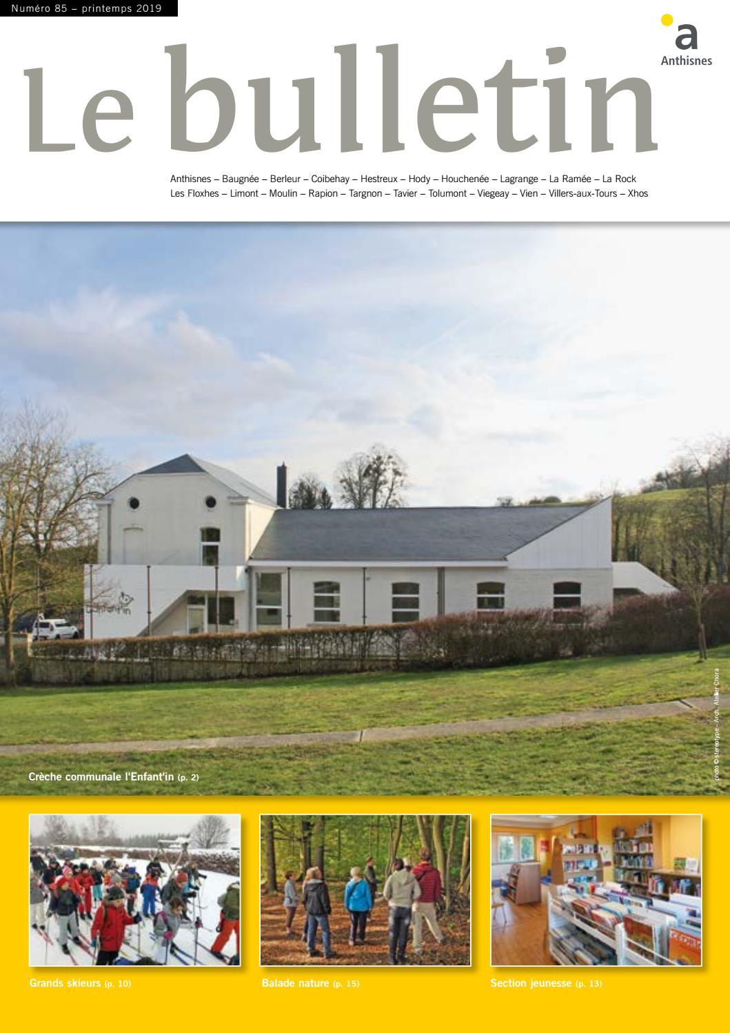 Verre Clair Saint Maximin le bulletin n°85 - printemps 2019commune d'anthisnes - issuu