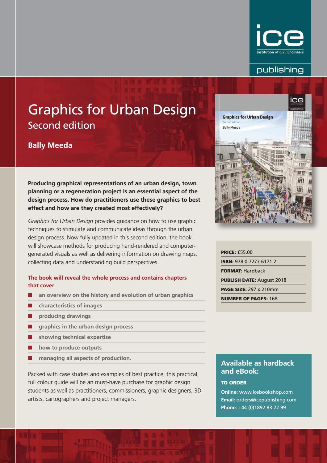 ICE_Graphics for Urban Design by SCIENTIFIC BOOKS