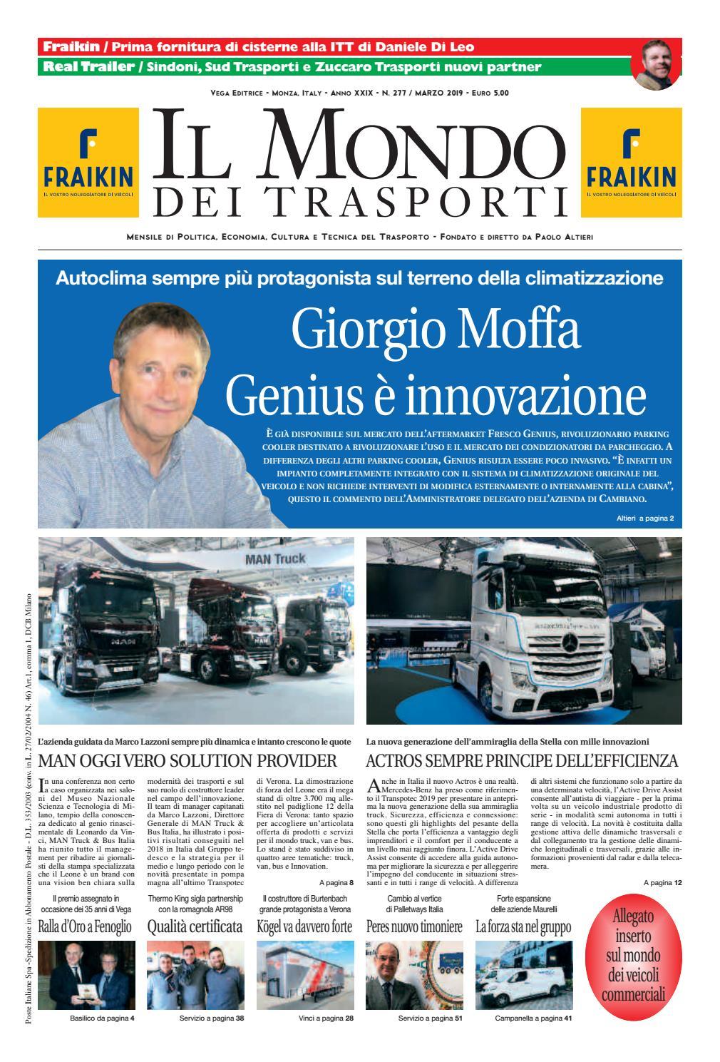 4a0e97dedffb Il Mondo dei Trasporti - Marzo 2019 by Vega Editrice - issuu