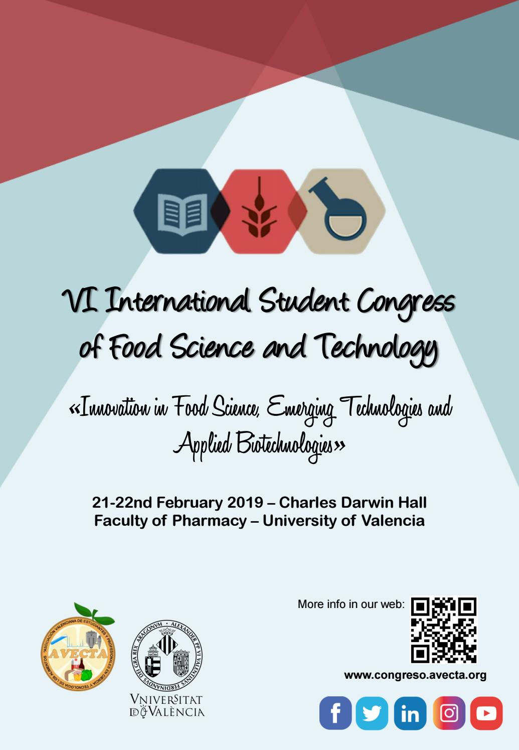 Abstracts Book Vi International Congress Of Food Science And Technology Valencia 2019 By Jorge Calpe Ruano Issuu Because of small parts these collections are meant for children ages 3 years and up. food science and technology valencia
