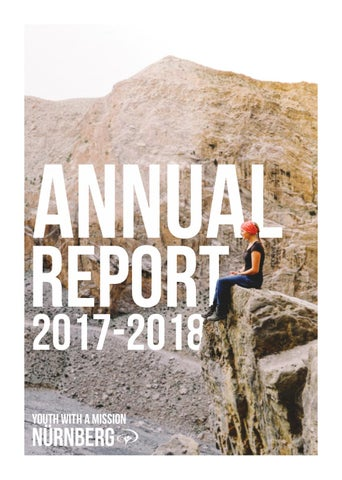 YWAM Nuremberg 2017/18 Annual Report by YWAM Nuremberg - issuu