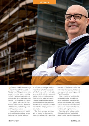 Page 18 of Interview: PHD Group CEO Alan Brockhouse