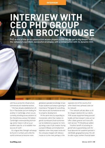 Page 19 of Interview: PHD Group CEO Alan Brockhouse