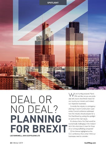 Page 22 of Deal Or No Deal? Planning For Brexit