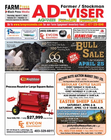 Southern Alberta Advisor, March 07, 2019 by Black Press