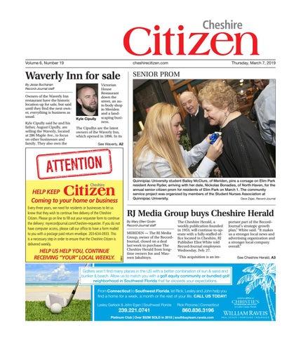 Cheshire Citizen, March 7, 2019 by Cheshire Citizen - issuu