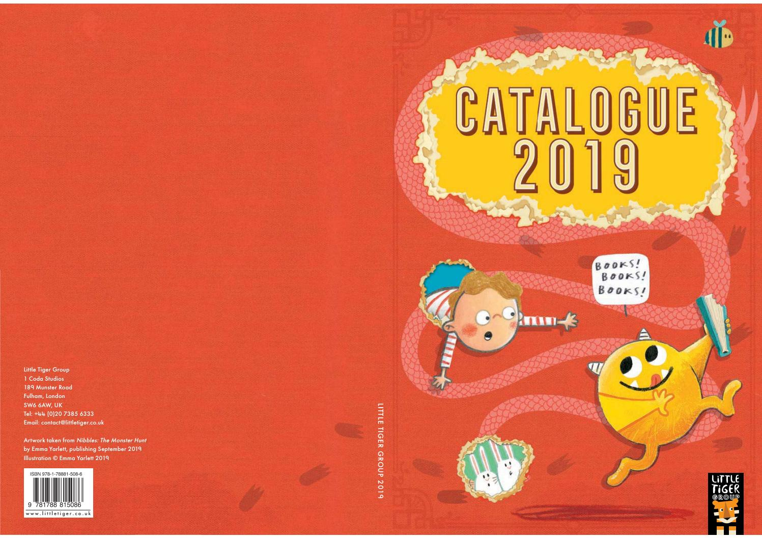 Little Tiger Press - 2019 Catalogue by Bounce Sales and