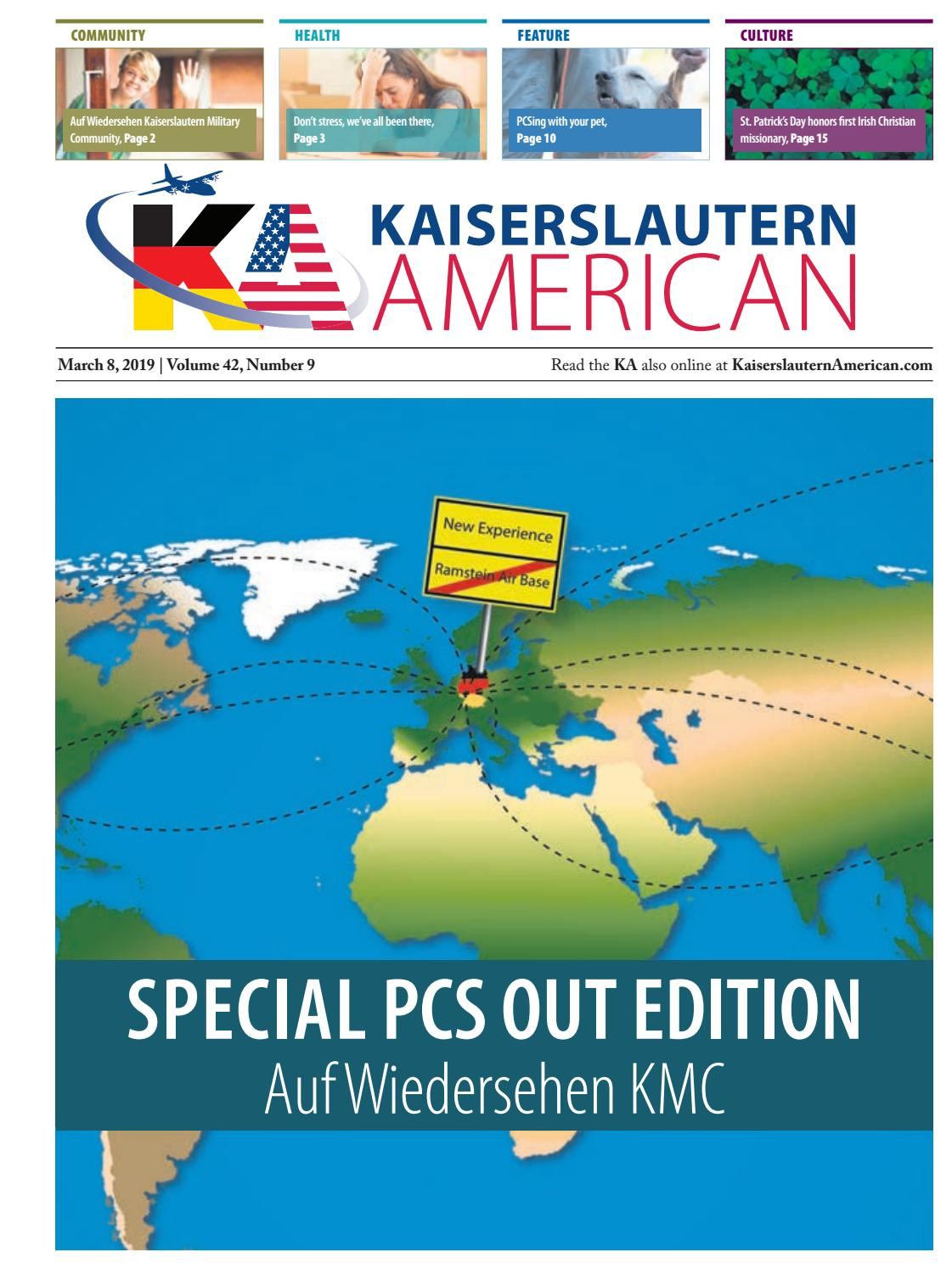 Kaiserslautern American, March 8, 2019 by AdvantiPro GmbH