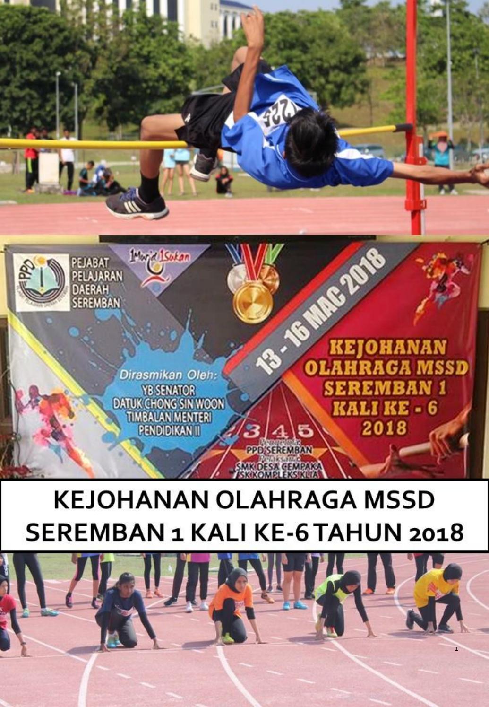 Dokumentasi Kejohanan Balapan Dan Padang Mssd S1 Kali Ke 6 2018 By Sm Sains Perempuan Seremban Issuu
