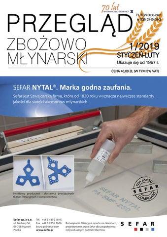 b4631d7264c501 Przeglad Zbozowo-Mlynarski 1_2019 by Monika - issuu