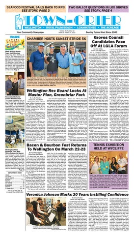 Town-Crier Newspaper March 8, 2019 by Wellington The
