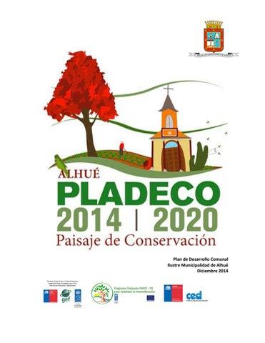 Plan De Desarrollo Comunal By Municipalidad Alhué Issuu