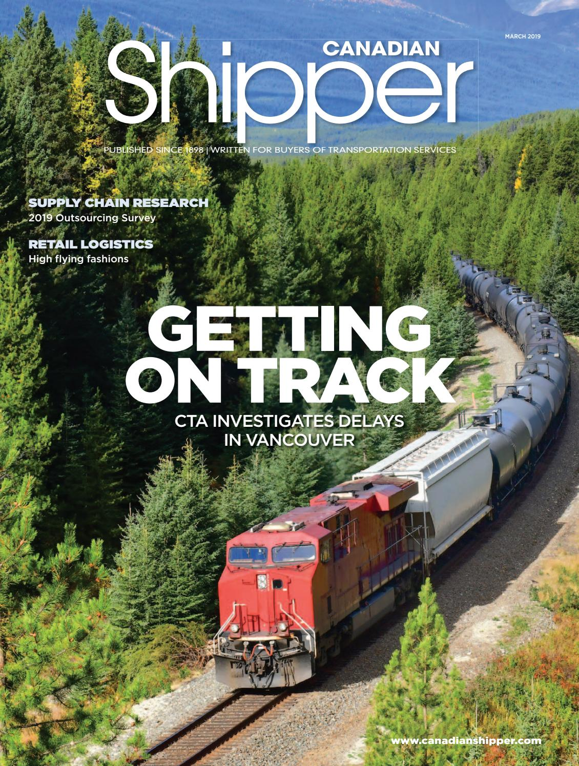 Canadian Shipper March 2019 by Annex Business Media - issuu