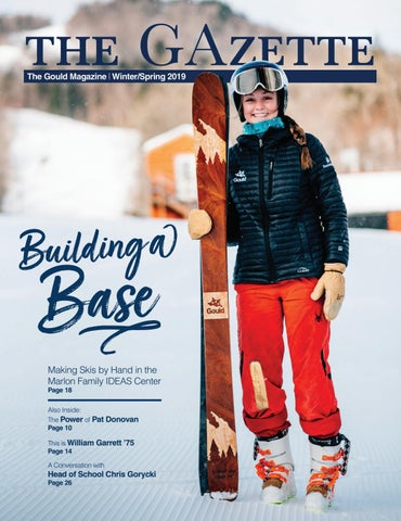 Deep Relaxation With Hannah Gould >> Gould Academy Gazette Winter Spring 2019 By Gould Academy