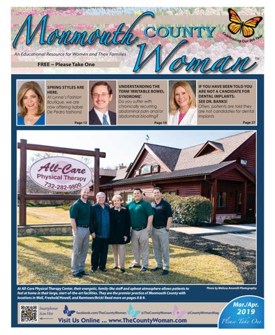 Monmouth County Woman - March/April 2019 by The County Woman