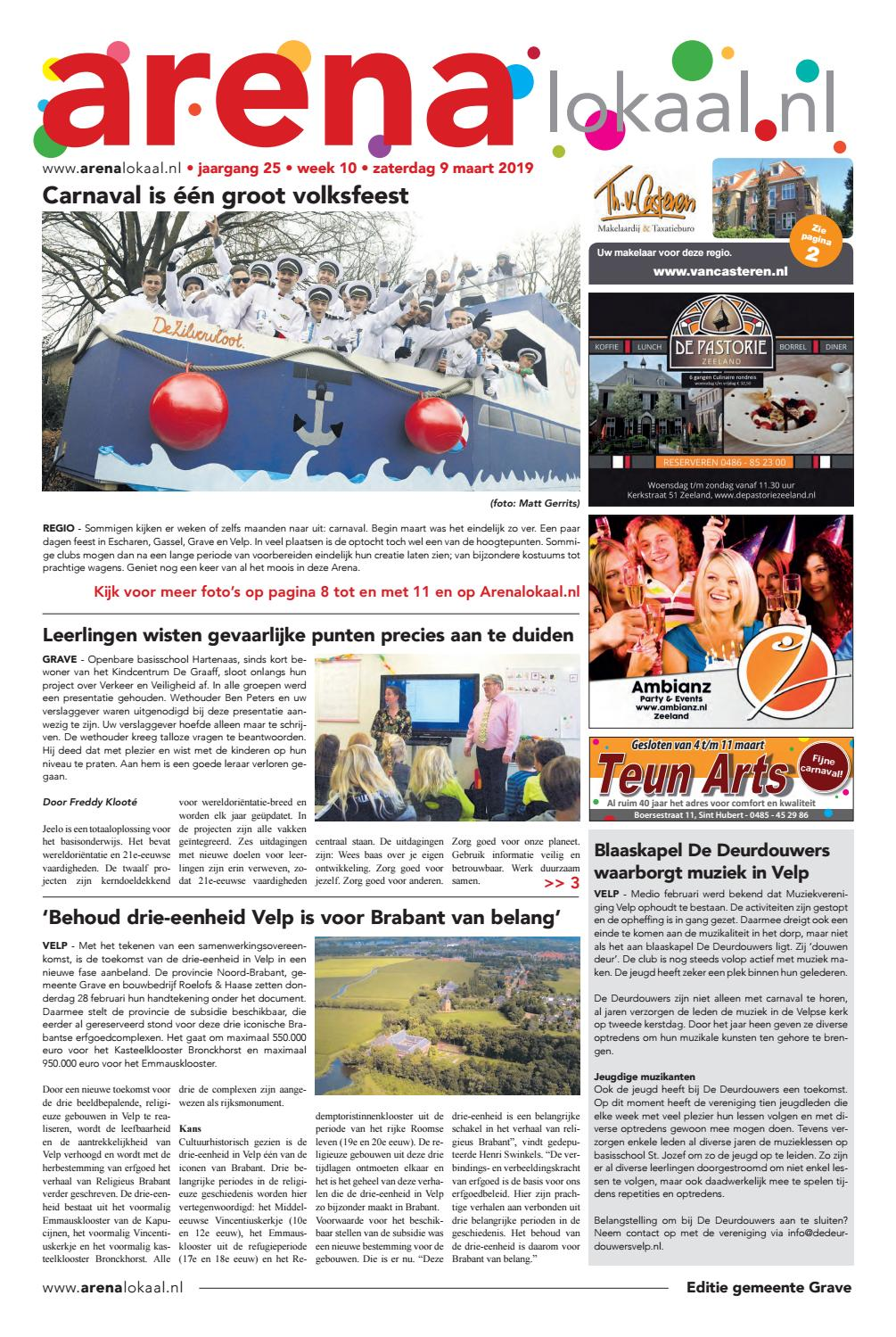 2eb22f2d742 Weekblad Arenalokaal editie Landerd, Ravenstein en Herpen week 10 2019 by  ArenaLokaal LNN | Tekst & Uitleg BV - issuu