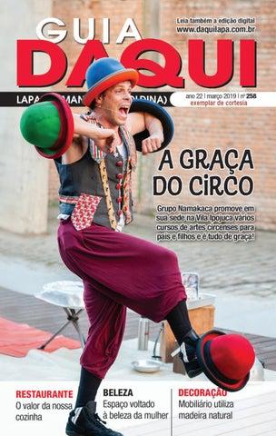 032b351a54 Daqui Lapa - Edição 258 - Março de 2019 by Página Editora e ...