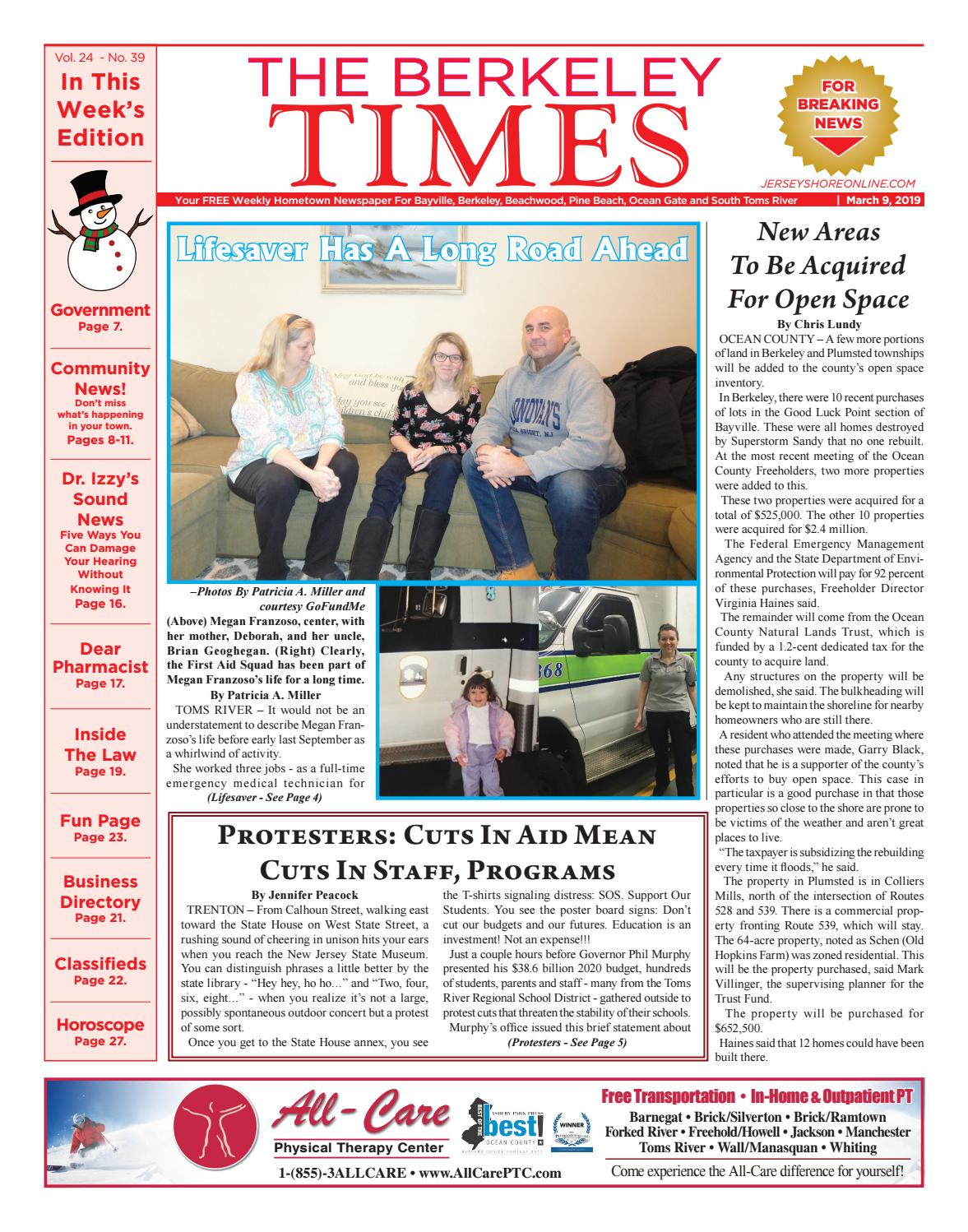 2019-03-09 - The Berkeley Times by Micromedia Publications