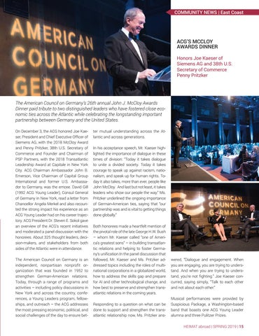 Page 15 of American Council on Germany Gala