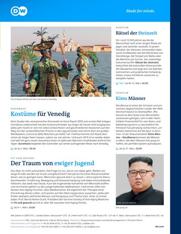Page 47 of DW Deutsche Welle TV