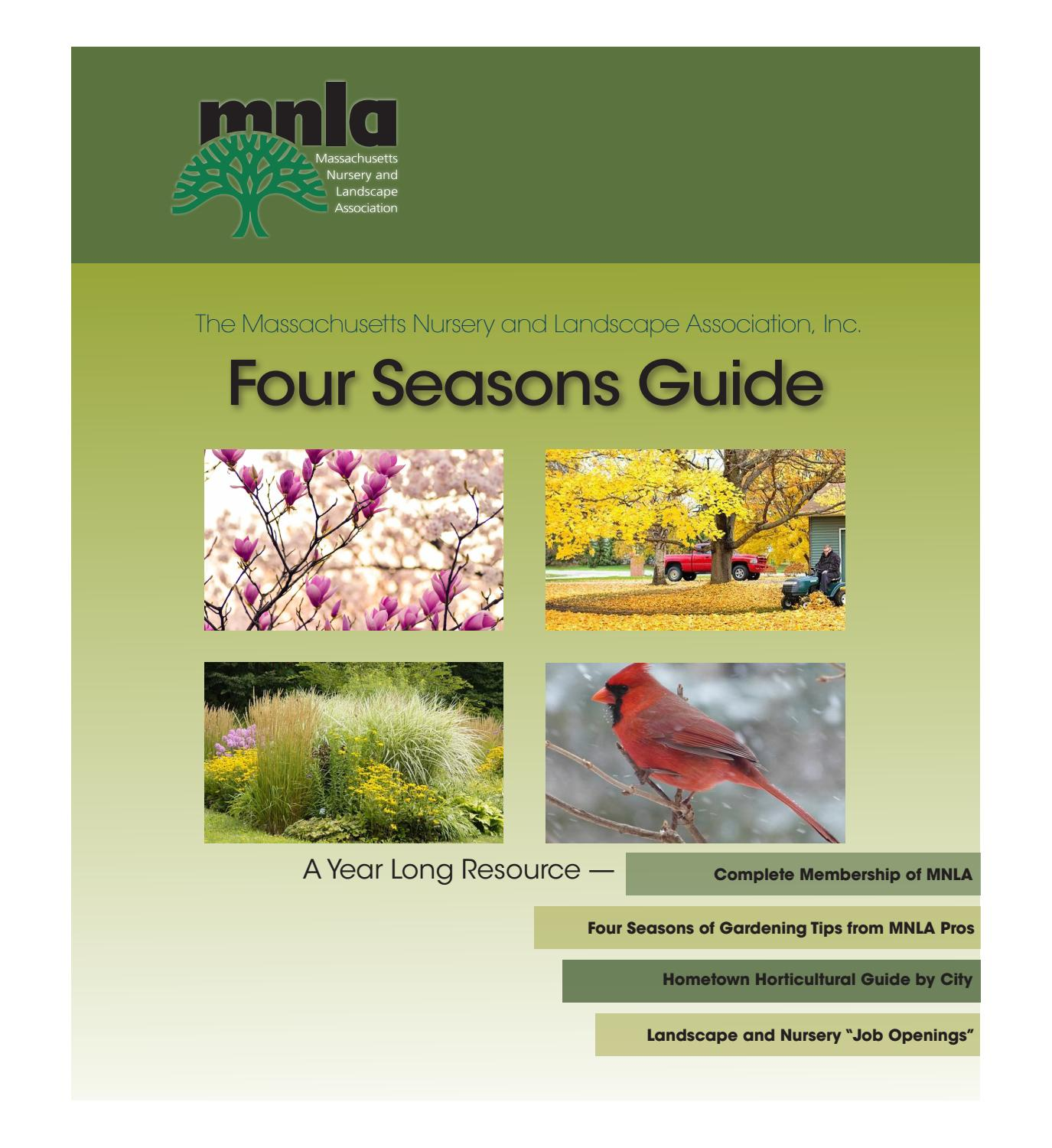Mnla Four Seasons Guide Digital Edition