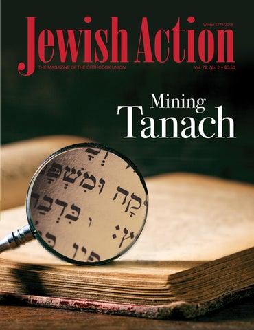 Jewish Action - Winter 2018 by Orthodox Union - issuu