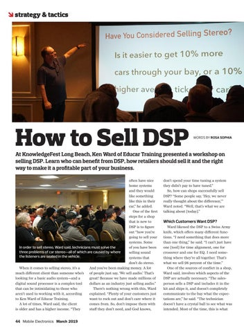 Page 44 of Strategy & Tactics: How to Sell DSP