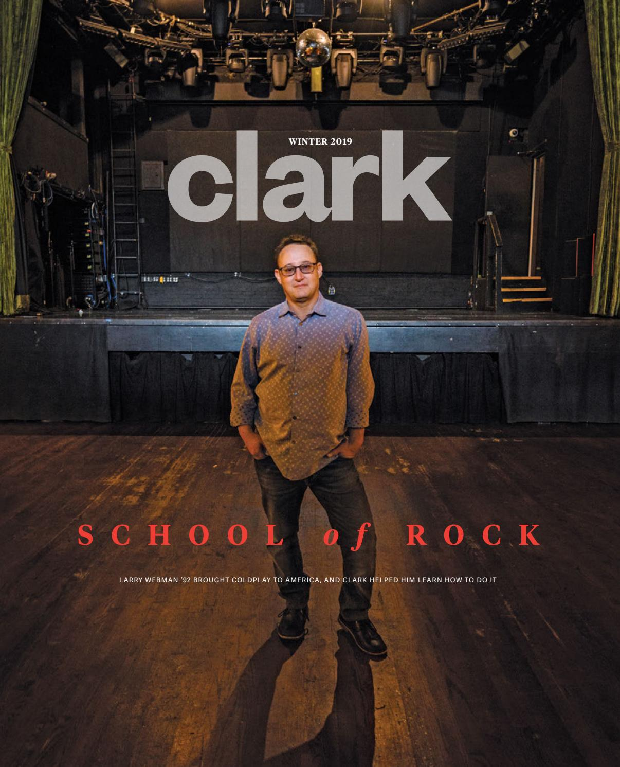 Clark Magazine Winter 2019 By Clark University Issuu