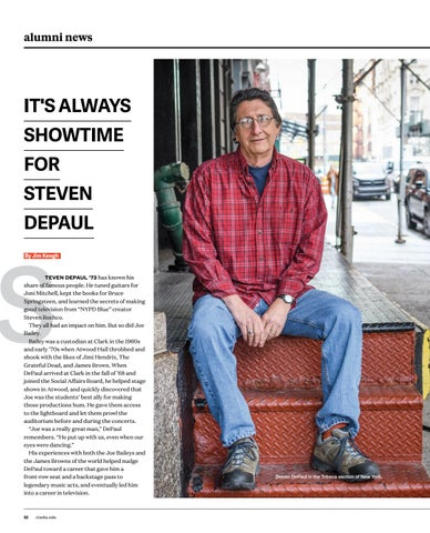 Page 54 of It's always showtime for Steven DePaul '73