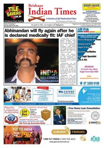 Brisbane Indian Times March 2019