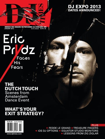 DJ Times January 2013, Vol 26 No 1