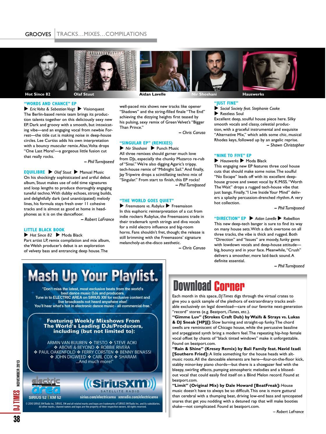 DJ Times November 2013, Vol 26 No 11 by DJ Times Magazine - issuu