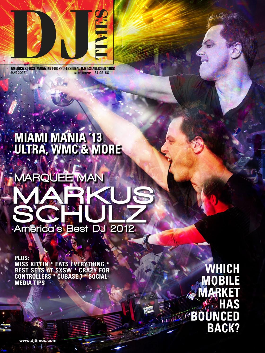 DJ Times May 2013, Vol 26 No 5 by DJ Times Magazine - issuu