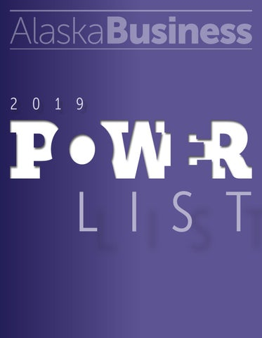 2a16a5984c6 2019 Power List by Alaska Business - issuu