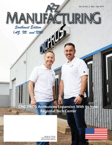 SW A2Z Manufacturing March 2019 by A2Z Manufacturing