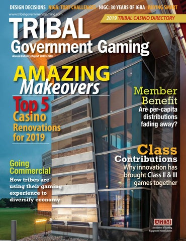 Tribal Government Gaming 2019 by Global Gaming Business - issuu
