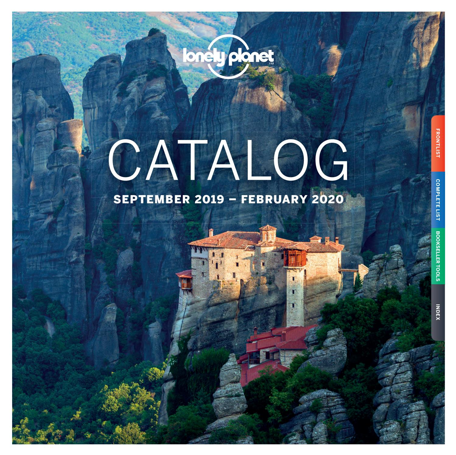 Lonely Planet Catalog Sep 19 - FEB 20 - US by Lonely Planet