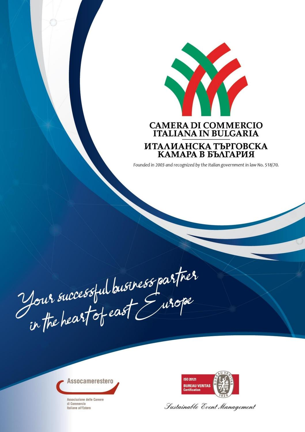 Veronafiere Calendario 2020.Calendario Attivita 2019 By Camera Di Commercio Italiana In