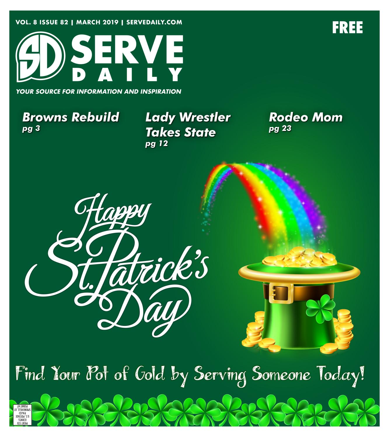 Serve Daily Volume 8, Issue 82 March 2019 by Serve Daily - issuu
