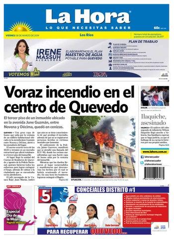 5a6bc92a6d39 Los Ríos 08 de marzo de 2019 by Diario La Hora Ecuador - issuu