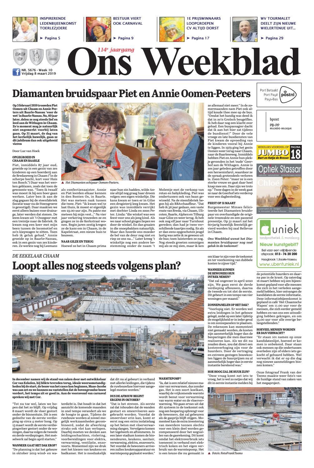 821618a32d4ae6 Ons Weekblad 08-03-2019 by Uitgeverij Em de Jong - issuu