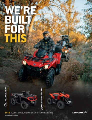 Can-Am Outlander PAC Catalog AU by Triple 888 Studios - issuu